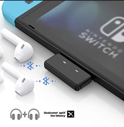 Как подключить bluetooth наушники к Nintendo Switch Airpods