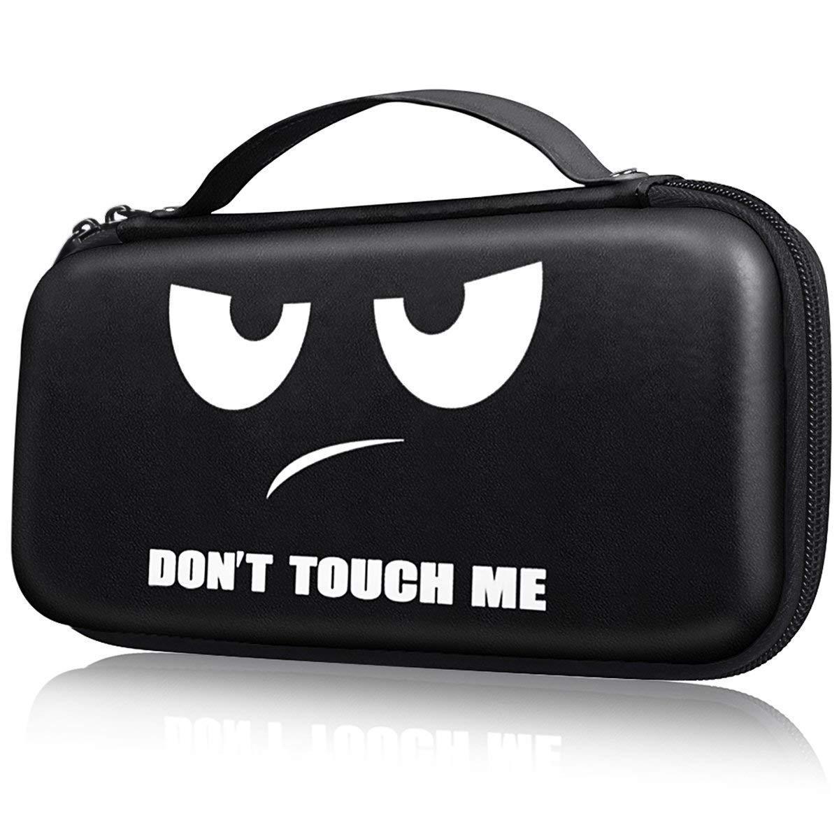 Черный чехол Don't touch me для Nintendo Switch Купить в Украине Нинтендо свитч