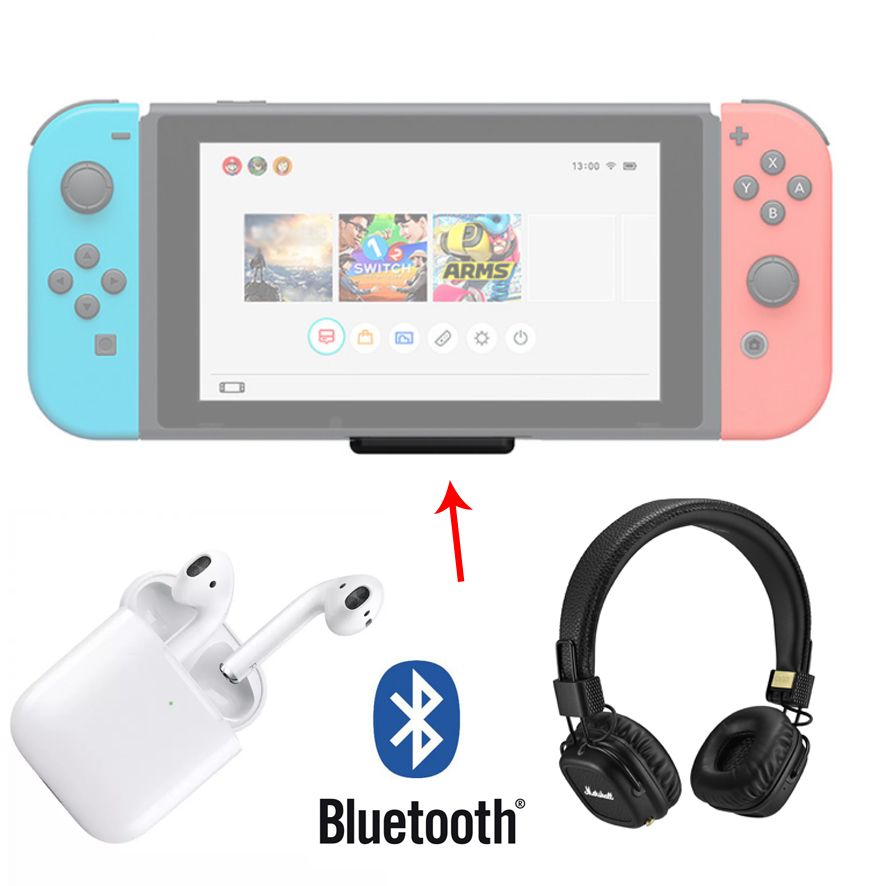 Как подключить bluetooth наушники к Nintendo Switch