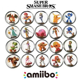Amiibo фишки Super Smash Bros для Nintendo Switch