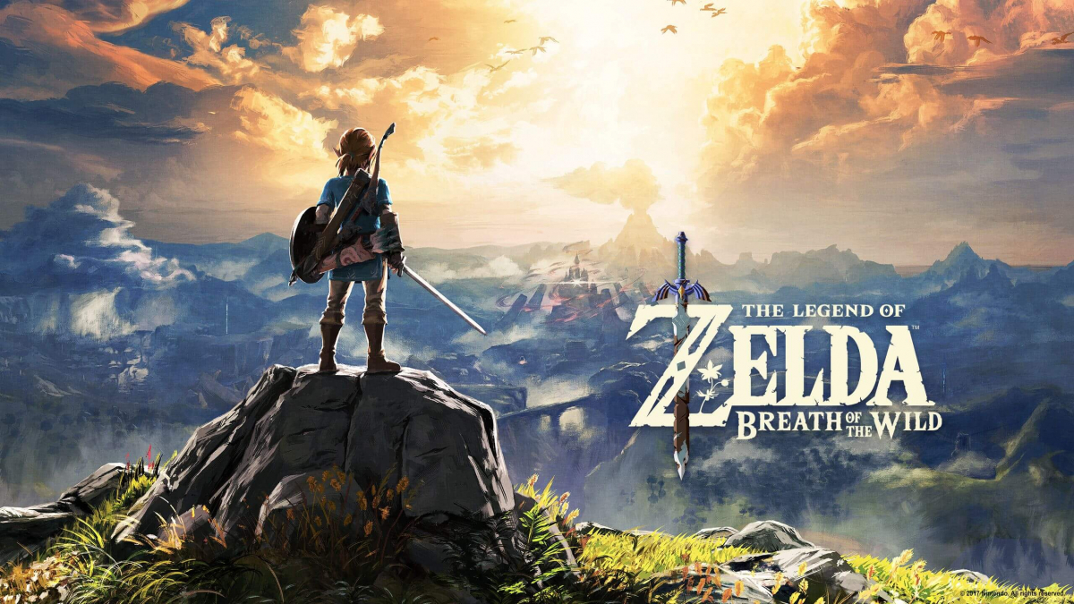 Купить игру The Legend of Zelda: Breath of the Wild на картридже для Nintendo Switch и Lite в Украине, Зельда BOTW для Нинтендо Свитч недорого