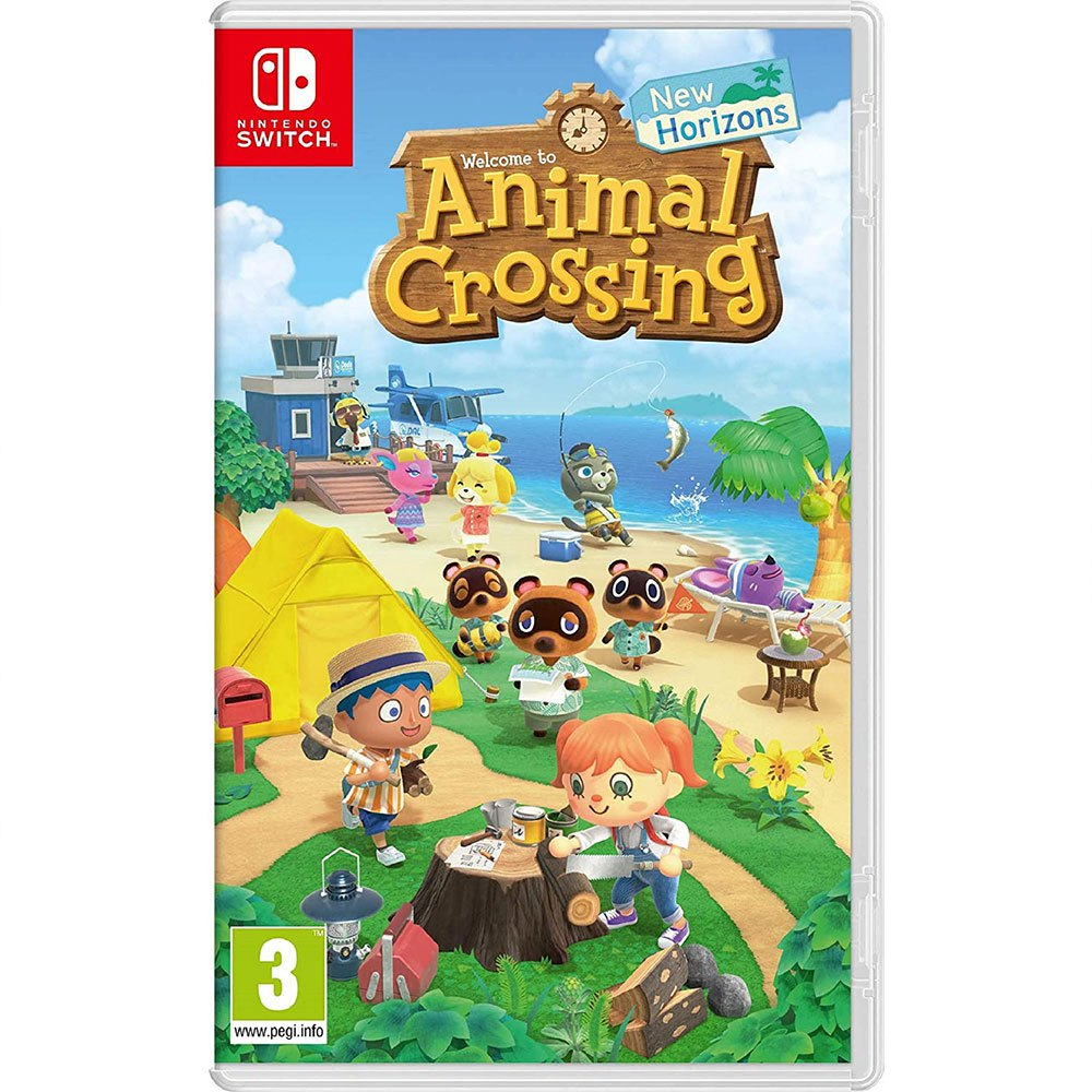 Купить игру Animal Crossing: New Horizons для Nintendo Switch картридж на русском языке, Игра анимал кросинг