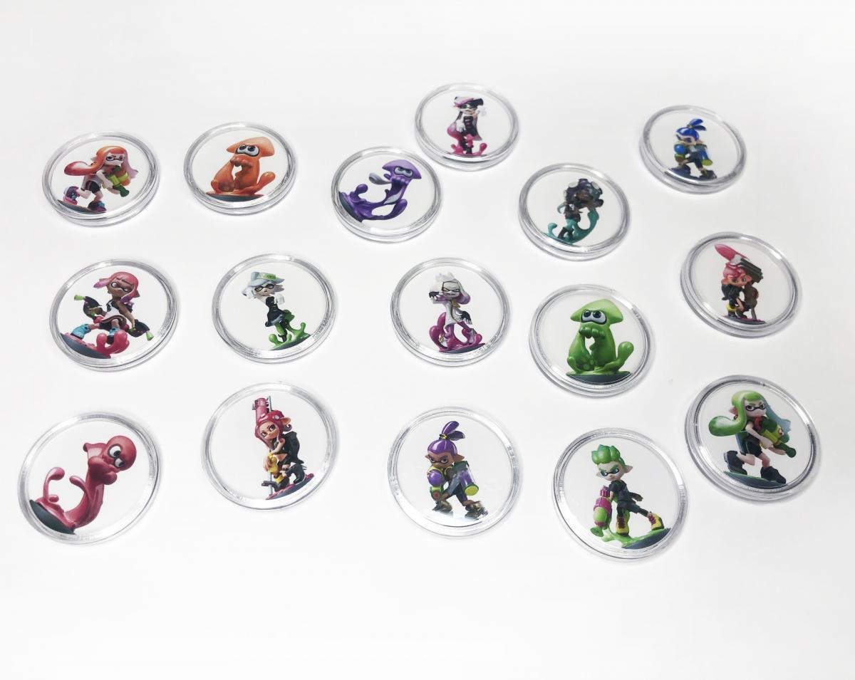 Купить фишки Amiibo к игре Splatoon 2, 16 лучших фишек амибо для Сплатун 2