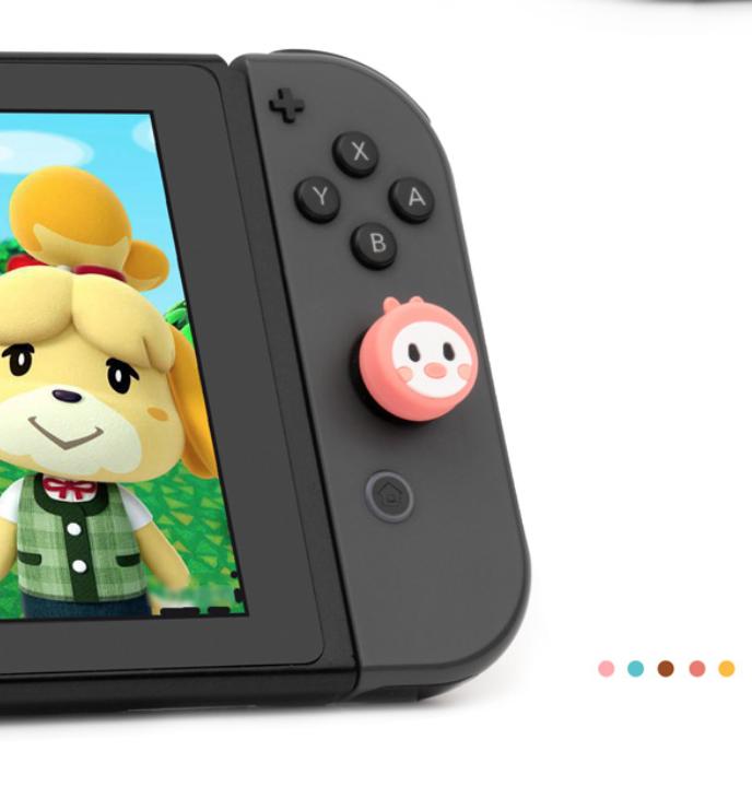 купить милые накладки на стики, накладки на стики Nintendo Switch, купить силиконовые накладки Nintendo Switch Lite