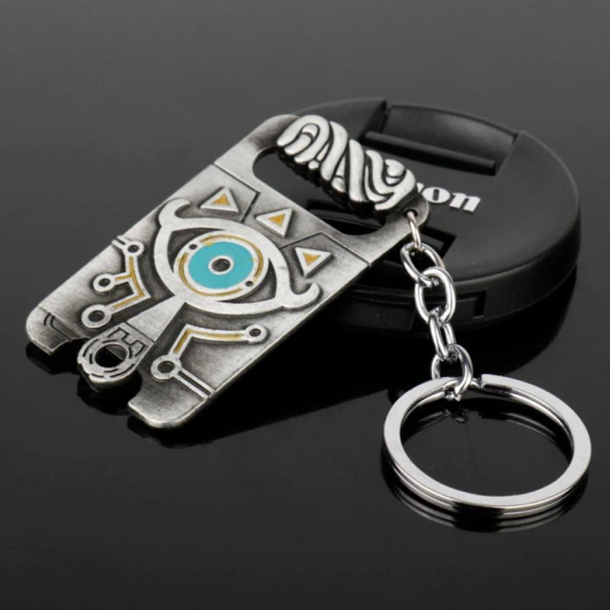 Брелок металлический для ключей в стиле The Legend of Zelda, купить брелок Зельда