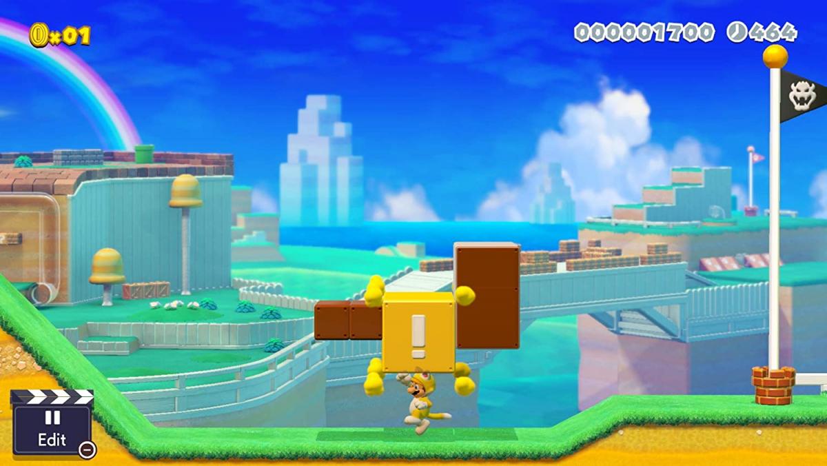 Купить новую игру  Super Mario Maker 2  для nintendo switch и нинтендо свитч лайт lite