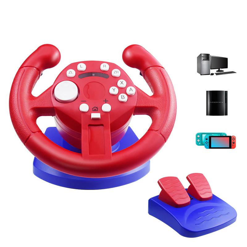 Гоночный руль для Nintendo Switch и Nintendo Switch lite, гоночный руль для Нинтендо свич и Нинтендо свич лайт