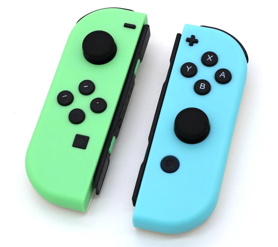 Купить зелено-голубые Joy-con от Erilles для Nintendo Switch, джойконы хорошего качества для Нинтендо Свитч