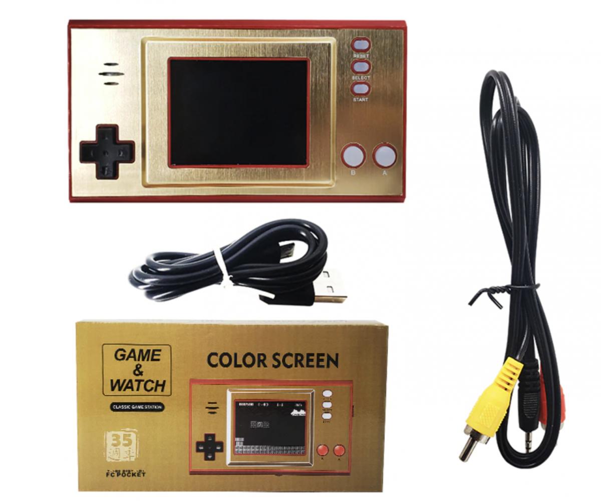Купить game and watch mario - лучше чем у nintendo, портативная консоль Game and Watch c 620 ретро играми, портативная игровая приставка к телевизору